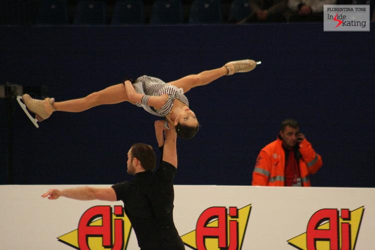 Vera Bazarova and Yuri Larionov
