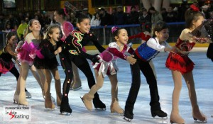 A skating gala and a cry for help