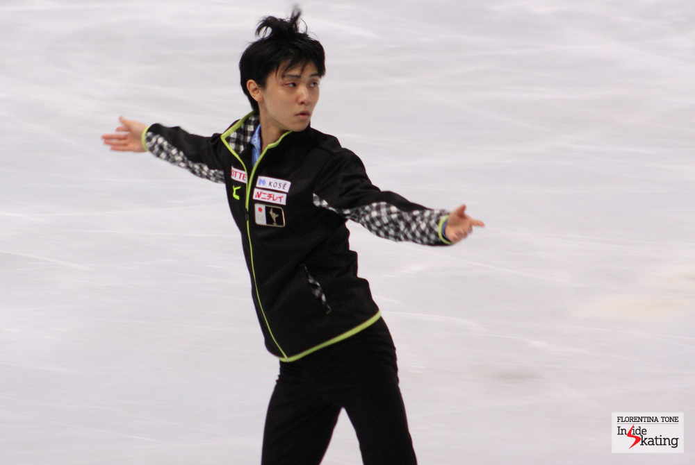 Yuzuru Hanyu in Paris, at the 2013 Trophee Eric Bompard
