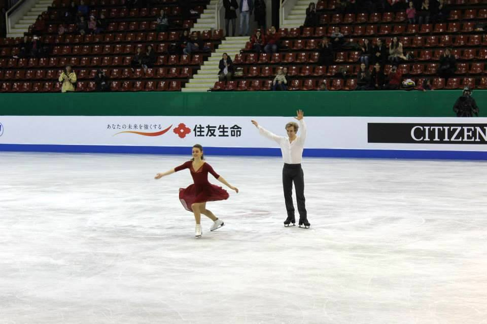 Kaitlin Hawayek and Jean-Luc Baker in Sofia (Photo: Andriana Andreeva)