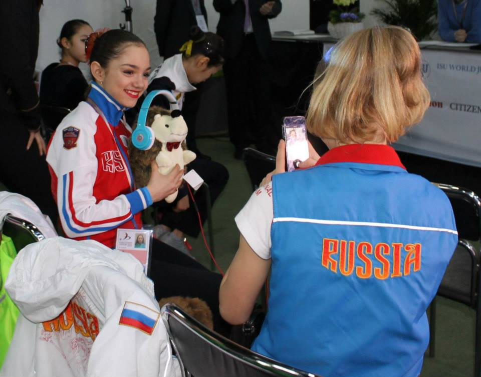 Evgenia and Serafima having fun in Sofia (Photo: Andriana Andreeva)