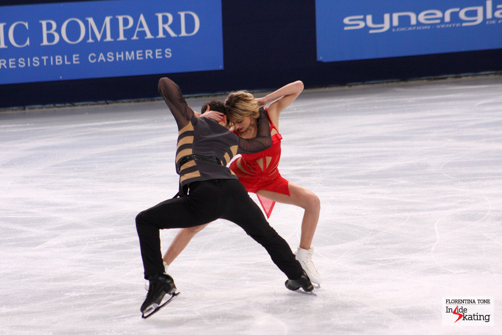 Gabriella Papadakis and Guillaume Cizeron at the 2013 Trophee Eric Bompard in Paris