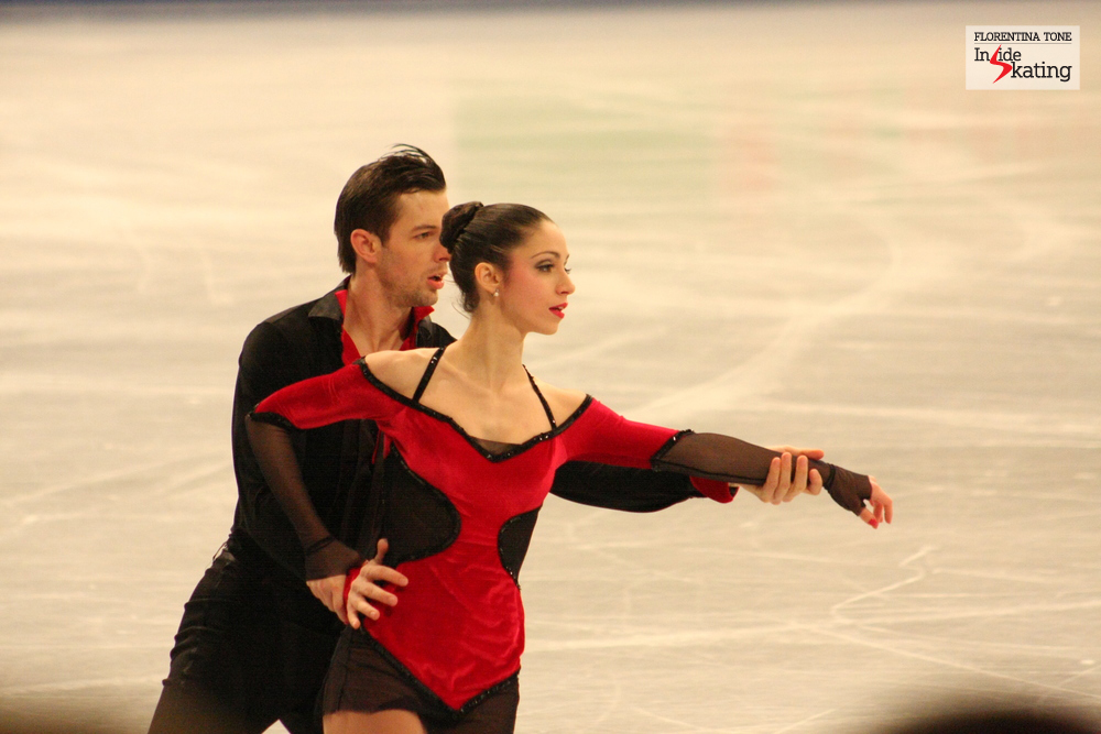 Stefania Berton and Ondrej Hotarek at the 2014 Europeans (free program)