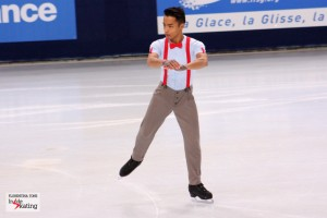 """Florent Amodio: """"I won't be at the World Championships this year"""""""