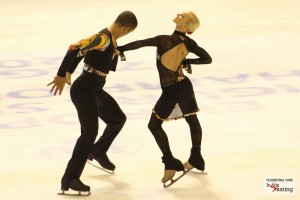 Team Savchenko-Szolkowy-Steuer made history in the pairs' event
