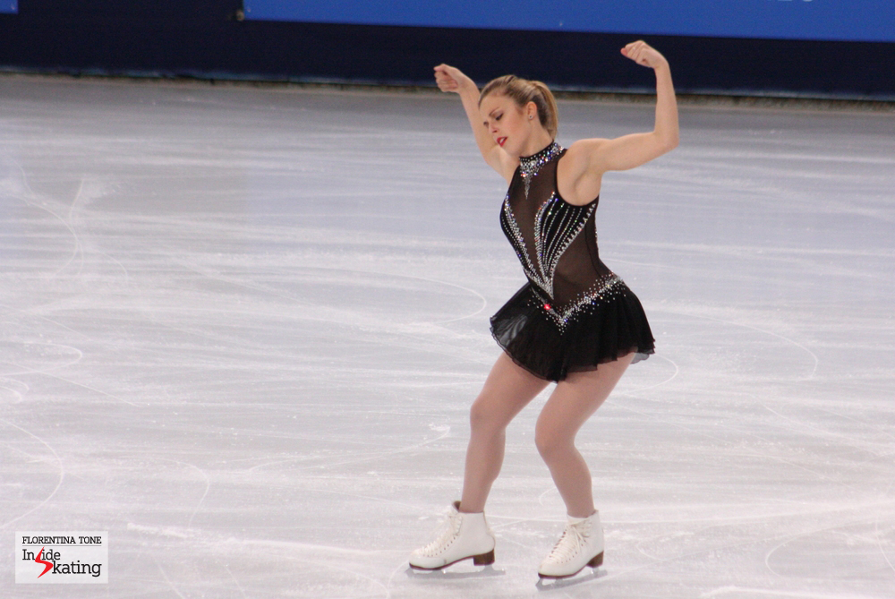 Ashley Wagner at 2013 Trophee Eric Bompard in Paris