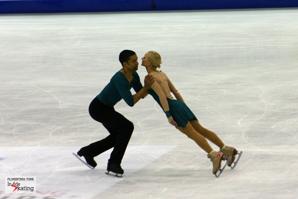 "Aliona and Robin skating one of my favorite programs ever: ""Pina"" (2012 Worlds in Nice)"