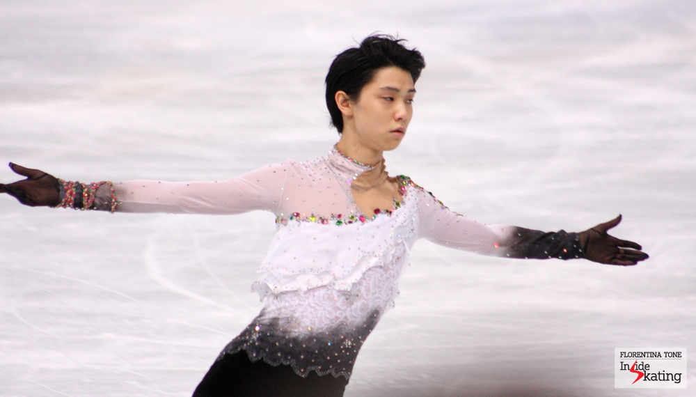 Yuzuru Hanyu at 2013 Trophee Eric Bompard in Paris