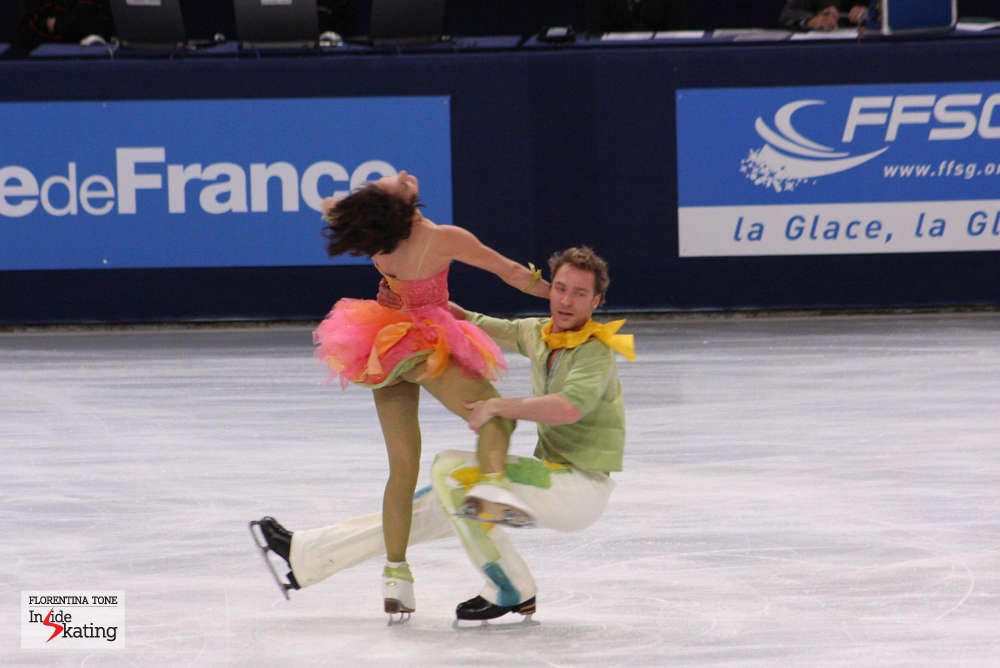 Nathalie and Fabian skating their free dance at the 2013 Trophee Eric Bompard in Paris