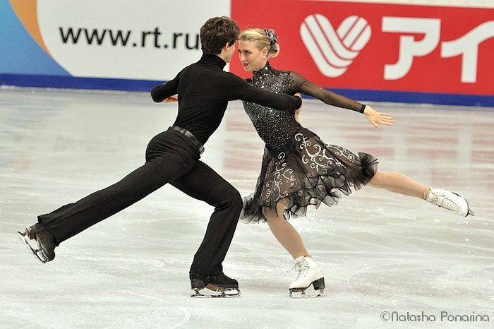 Piper Gilles and Paul Poirier performing their Hitchcock routine in Moscow, at 2013 Rostelecom Cup (Photo courtesy of Natasha Ponarina)