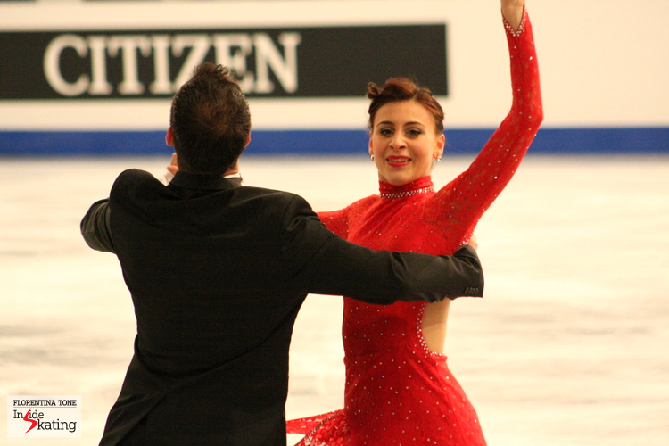 Lorenza and Simone: their last short dance (2014 Europeans in Budapest)