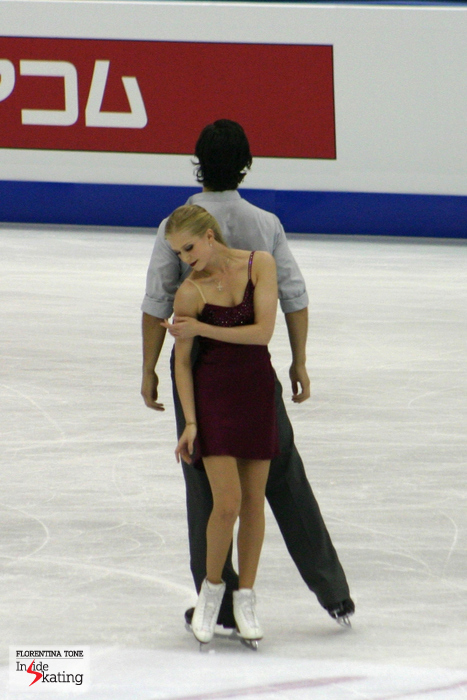 "The free dance ""Je suis malade"" suited Kaitlyn and Andrew like a glove and rose the audience to its feet"