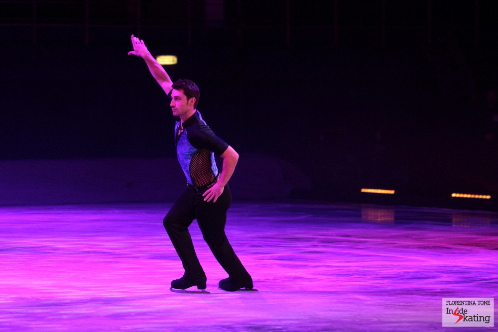 Brian, as The Lord of the Dance (Bucharest, October 7th, Kings on Ice Olympic Gala)