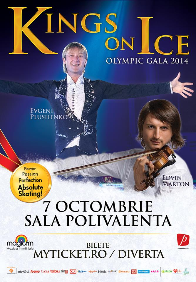 2014 Kings on Ice Olympic Gala Poster