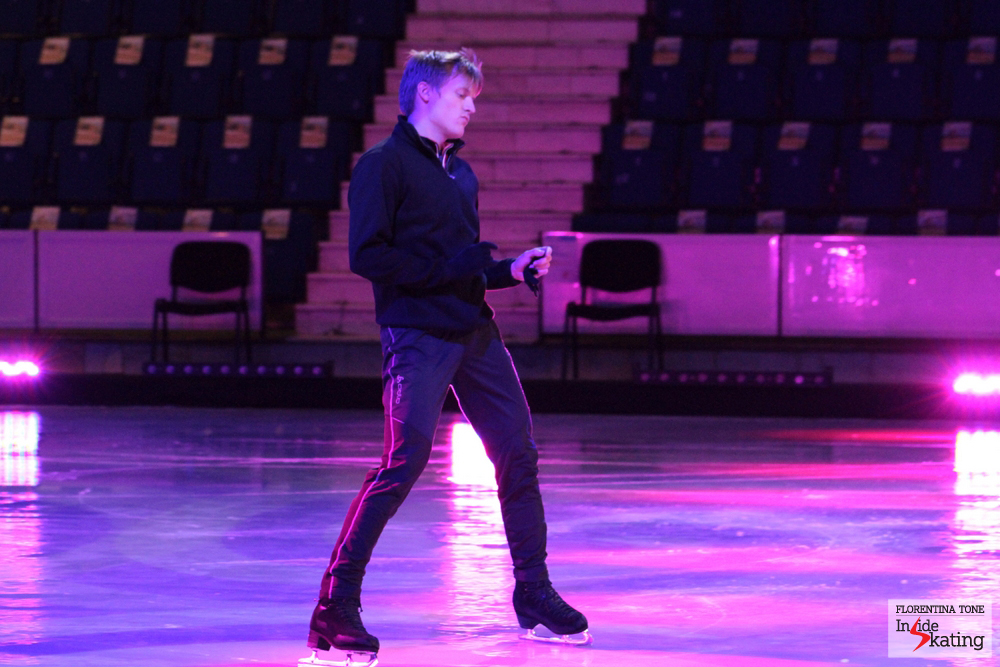 On the ice of Sala Polivalenta (Bucharest)
