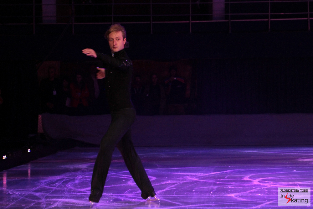 """Evgeni opens the ball with his """"Storm"""" program"""