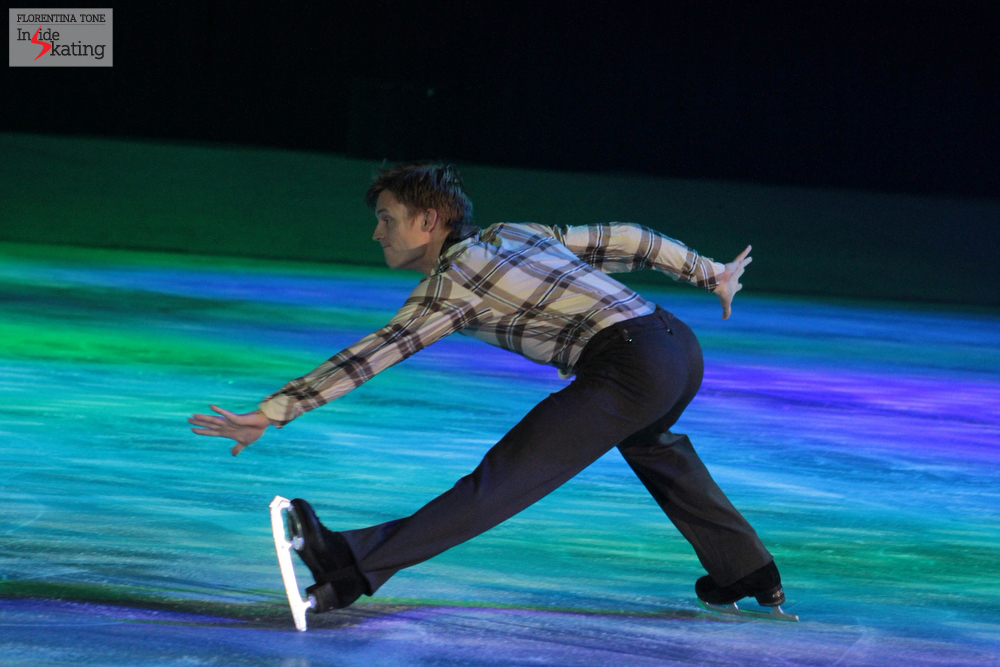 "The Romanian audience is definitely a lucky one: Tomas skated in Bucharest his wonderful short program from the Olympic season, ""Dueling Banjos"""