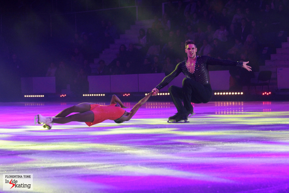 Vanessa James and Morgan Cipres in Bucharest