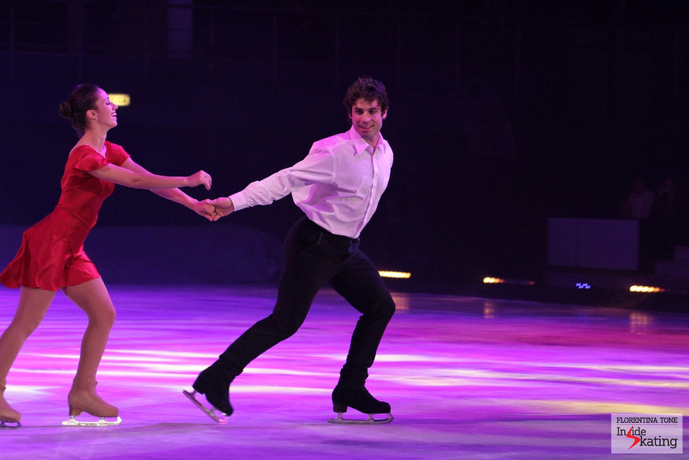You should have seen Stefania and Rockne in Bucharest, at Kings on Ice Olympic Gala: they were glowing