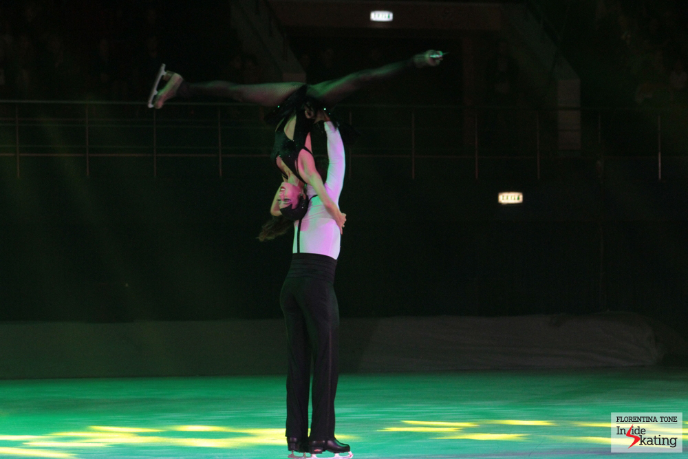 Once again, Fiona Zaldua and Dmitry Sukhanov and their breathtaking routines
