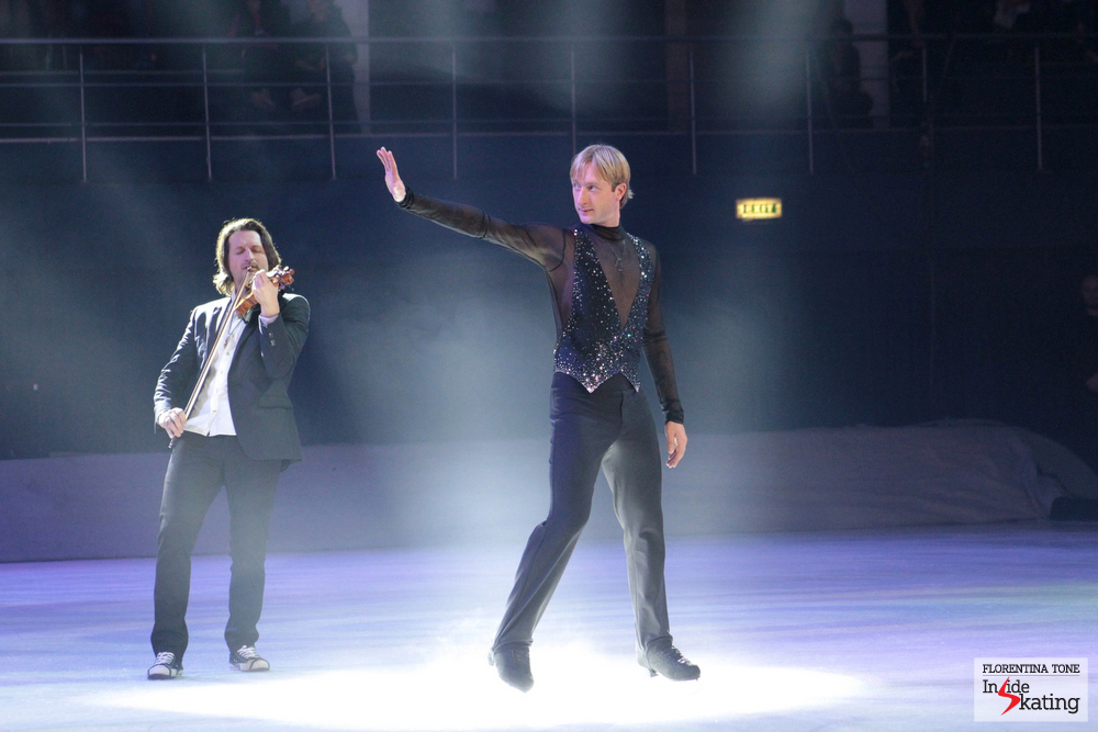 "The King himself, skating ""The Best of Plushenko"", a truly emotional performance for all of his fans"