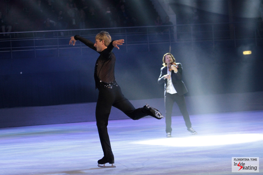 Flying on the ice of Bucharest; tiny as it was, it hosted a King