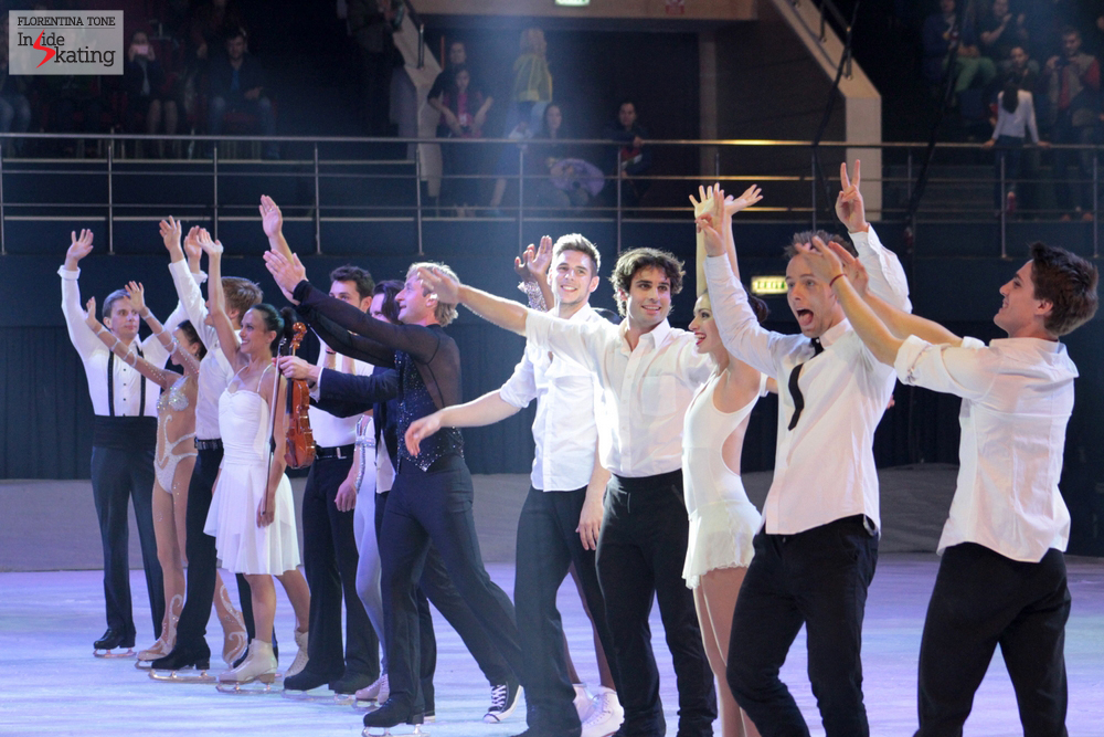 Wonderful skaters, thank you for the magic!