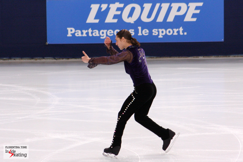 The American Jason Brown (here at 2013 Trophee Eric Bompard) definitely has his eyes on 2018 Winter Olympics in South Korea