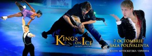 Kings and Queens of Ice, in Bucharest, on October 7th