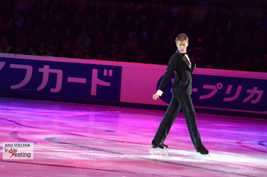 "A classy, elegant Michal Brezina in Moscow, skating to ""Wonder Wall"" by Paul Anka"