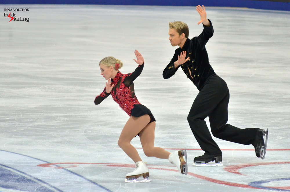 For their Flamenco and Paso Doble, Penny Coomes and Nicholas Buckland scored 59.55 points