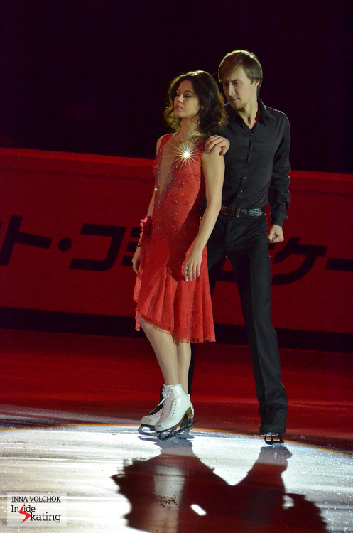 """Love like a dream"" by Alla Pugatcheva, skated by Elena Ilinykh and Ruslan Zhiganshin in the Gala"