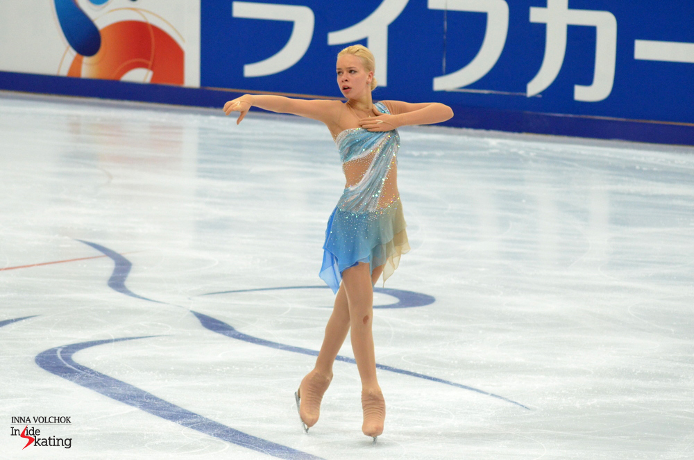 "Anna Pogorilaya and her ""Adagio"""