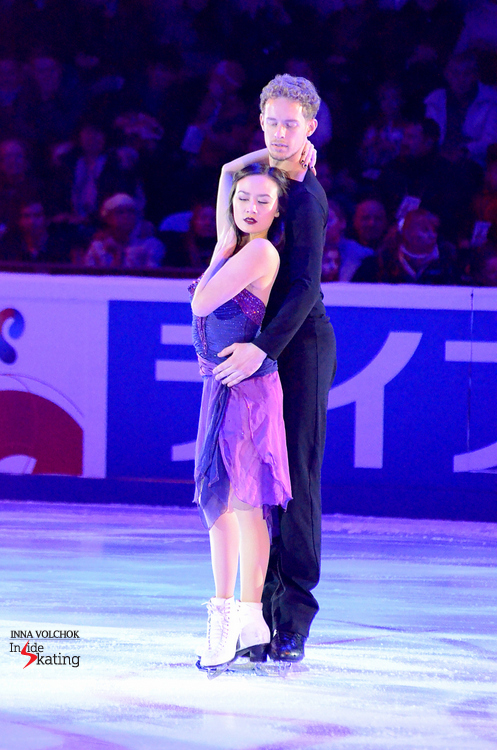 "Madison Chock and Evan Bates - and their exhibition program in Moscow, to ""Interrupted Flight"" (encore: ""An American in Paris"")"
