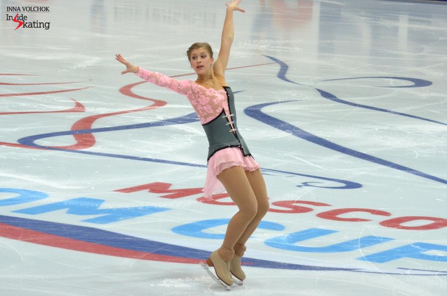 """Eliska Brezinova skating to """"Megapolis"""" by Bel Suona"""