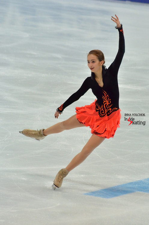 "Maria Stavitskaia skating to ""Don Quixote"" by Leon Minkus"