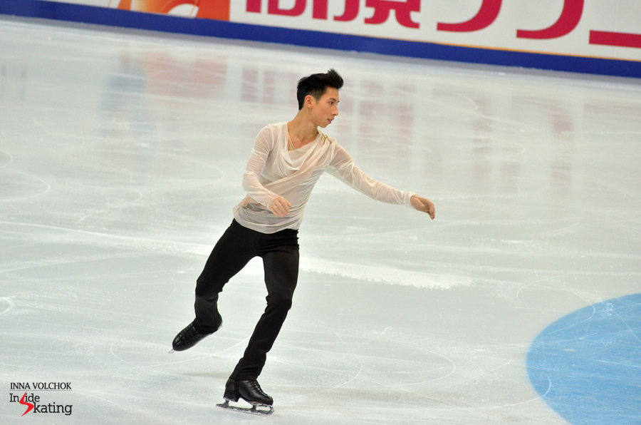 "Jeremy Ten skating to ""Hallelujah"""