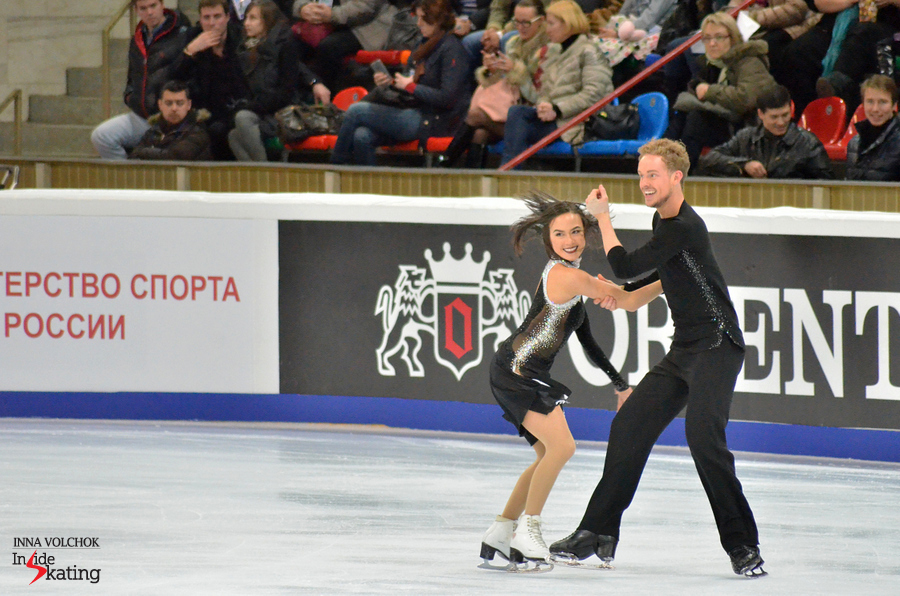 "Madison Chock and Evan Bates and their version of ""An American in Paris"""
