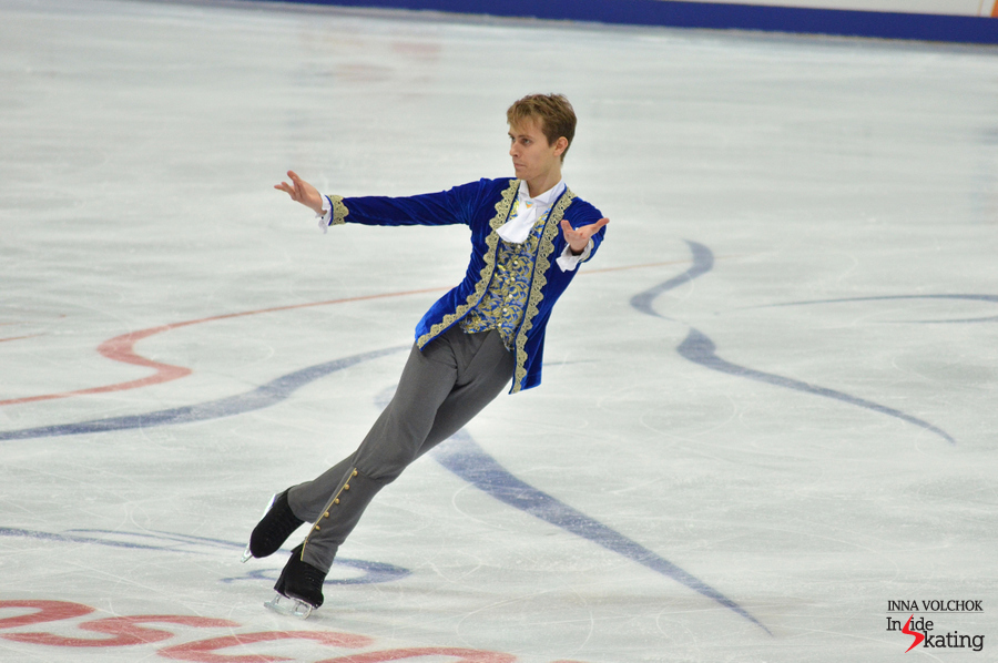 Michal, as Figaro, in Moscow