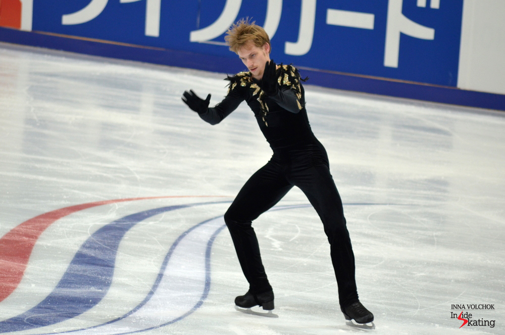 "Skating to ""Danse Macabre"", Sergei Vorovov was foot-perfect in Moscow"