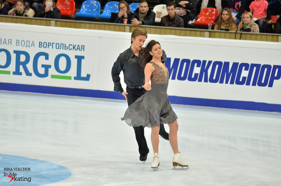 "Elena Ilinykh and Ruslan Zhiganshin skating to ""Appassionata"""