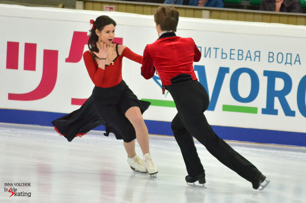 "Elena Ilinykh and Ruslan Zhiganshin skating to ""Carmen"" - a short dance to remember"
