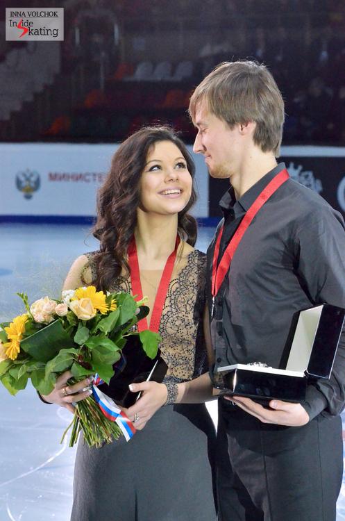 Elena Ilinykh and Ruslan Zhiganshin