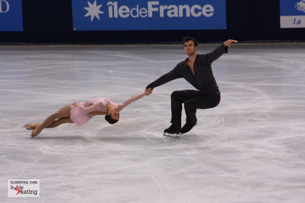 If Worlds were tomorrow, Meagan Duhamel and Eric Radford would be the winners of the pairs' discipline (here at 2013 Trophee Eric Bompard in Paris)