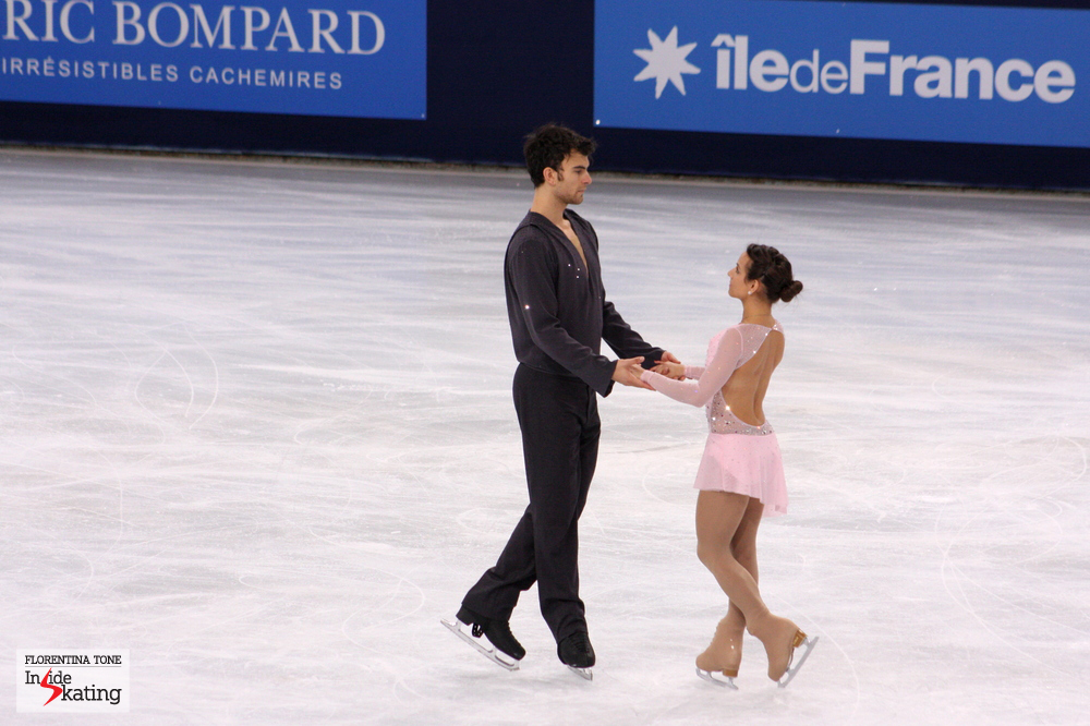 Meagan Duhamel and Eric Radford at 2013 Trophee Eric Bompard (short program)