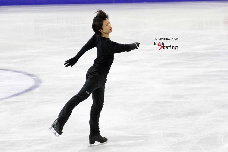 Tatsuki Machida: first practice in Barcelona, at the Grand Prix Final