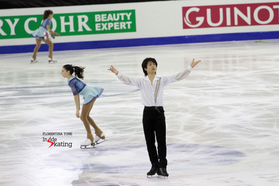 """Minutes after this particular performance, Tatsuki Machida stated happily: """"I think I skated with belief, with the confidence of a 21-year skating career. I love to show my performances to people from all over the world, that is very important to me"""""""