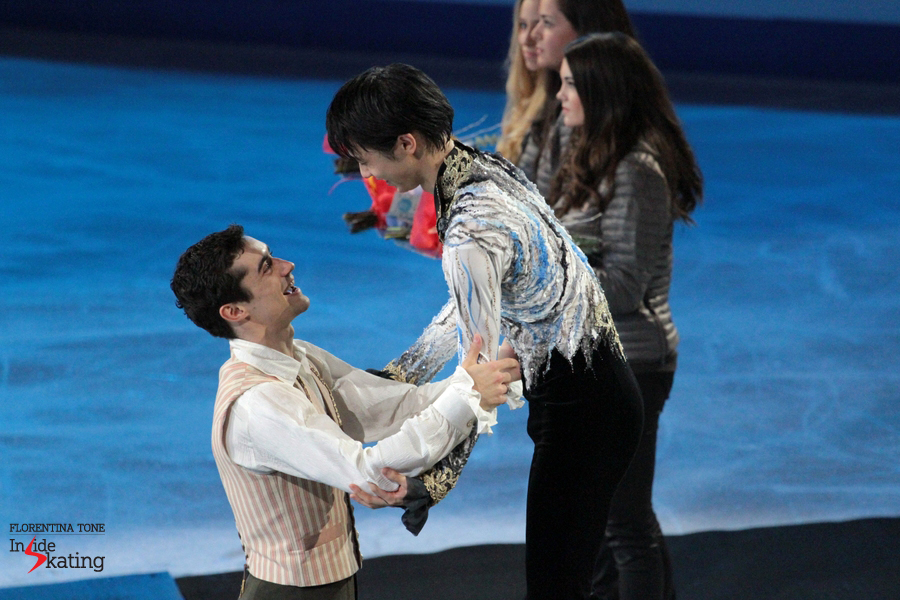 Gold and silver for Brian Orser's students in Barcelona, at the 2014 Grand Prix Final
