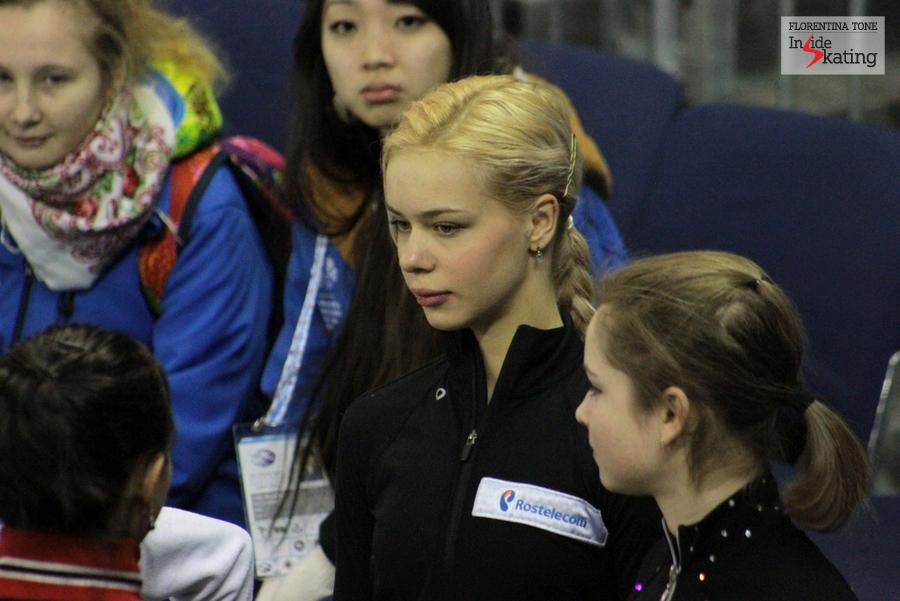 Close-up: Anna Pogorilaya and Julia Lipnitskaia