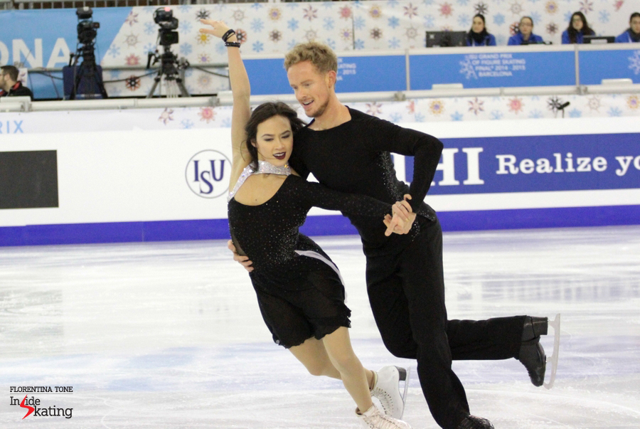 "Madison Chock and Evan Bates - and their dancing version of ""An American in Paris"""